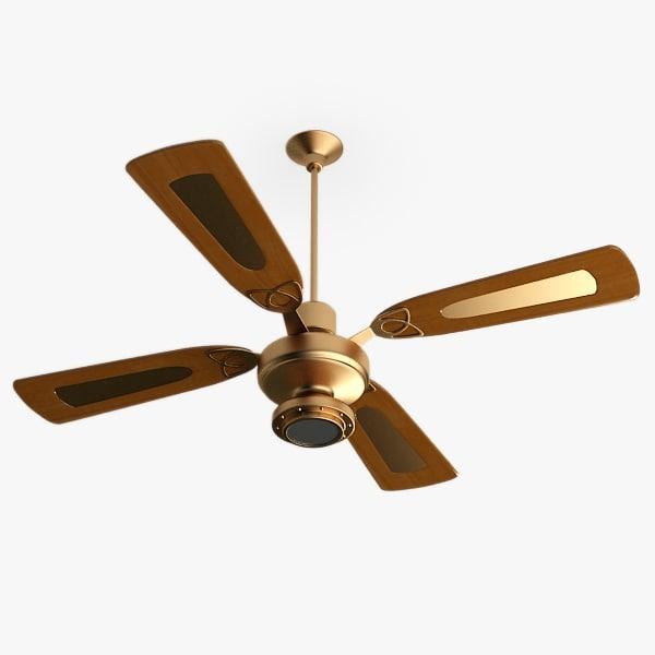 3ds max ceiling fan