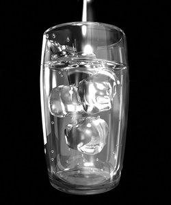 3dsmax resolution glass water