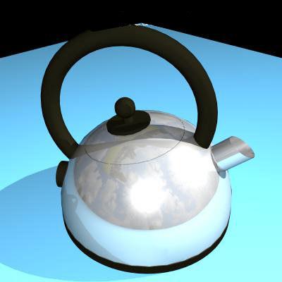 kitchen kettle 3d model