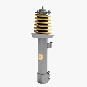 shock absorber 3d model