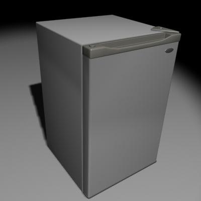 fridge freezer mini-fridge 3d 3ds