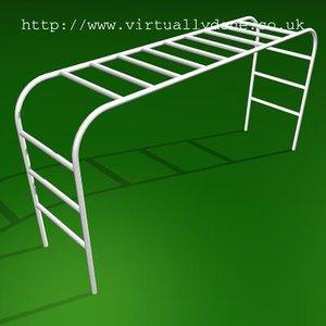 3d model climbing frame
