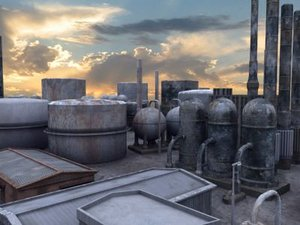3d factory refinery