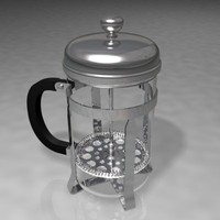 3ds max coffe brewer
