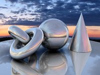 3d model spherical skydome
