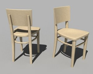 3d kyoto chair designer model
