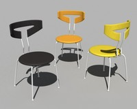 3d series 1600 stacking chair