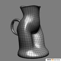 jug cup 3d model