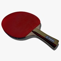 ping-pong paddle 3d model