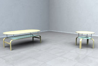 3d 3ds modern table furniture
