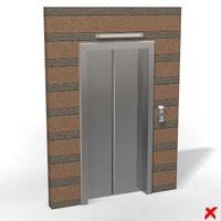 Elevator door025_max.ZIP