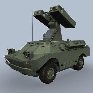 sa-9 gaskin 3d model