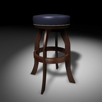 3ds max bar stool