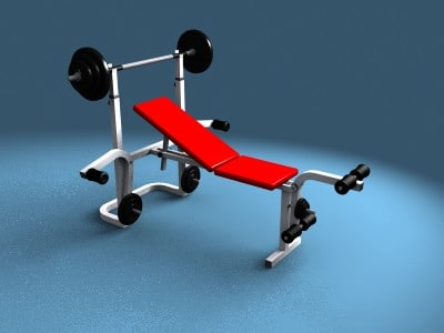workout bench 3ds