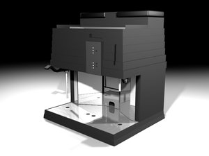 3d model of coffee espresso
