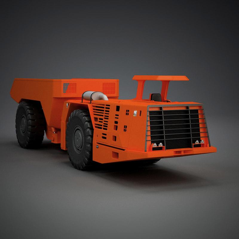 wheel loader 3d 3ds