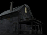 creepy house 3d model