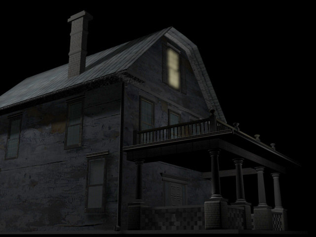 creepy house 3d model