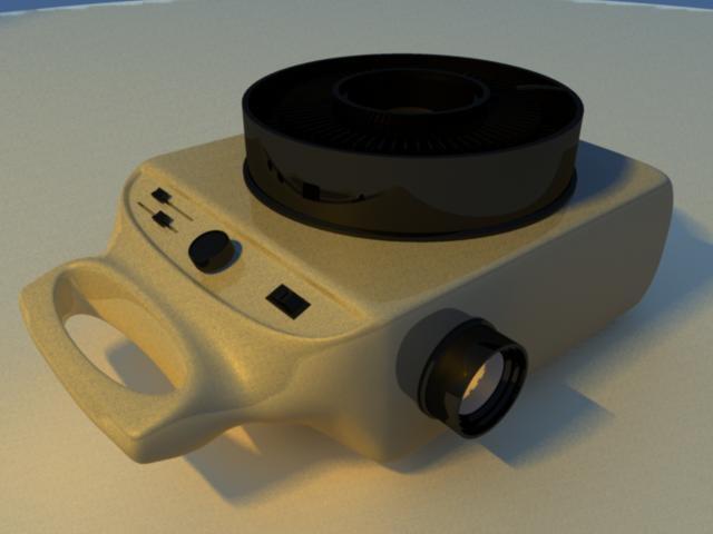 slide projector 3d ma