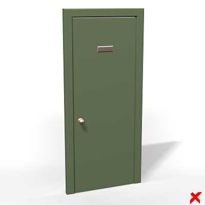 door entrance 3d max