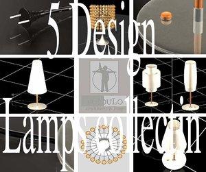 luminaries designeds light 3ds