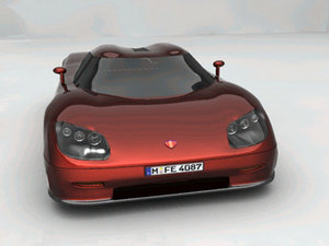 3d model of koenigsegg ccr