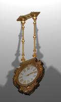 3d model decorative clock