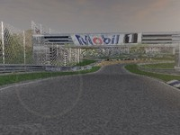 silverstone circuit racing 3d max
