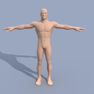 male guy 3d model