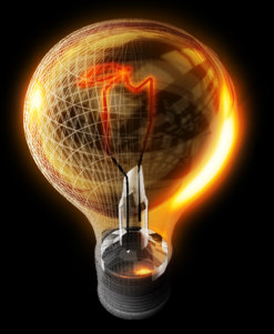 light bulb 3d ma