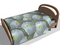 bed furniture 3d max