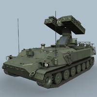 soviet sam sa-13 gopher 3d model