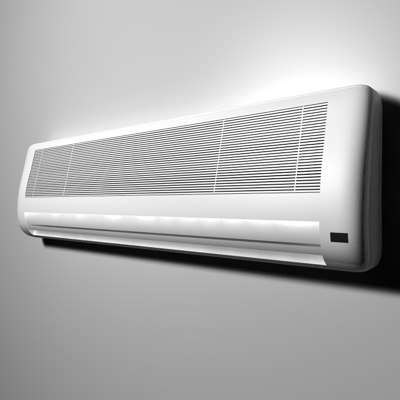 3ds max wall air conditioner