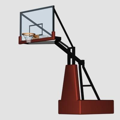3dsmax basketball goal