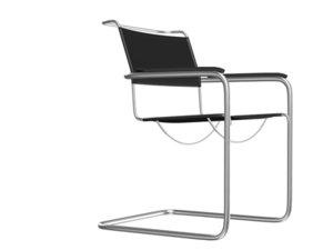 classic thonet armchair s34 3d 3ds