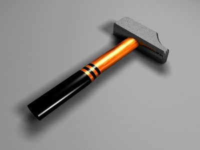 3ds max tools hammer wrench