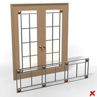 Door glass029_max.ZIP