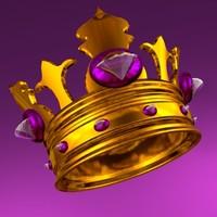 3d model king crown