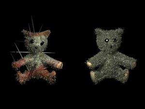 max undead ted teddy bear