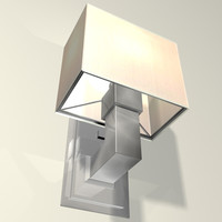 metropolis sconce lighting 3d model