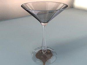 martini glass ma
