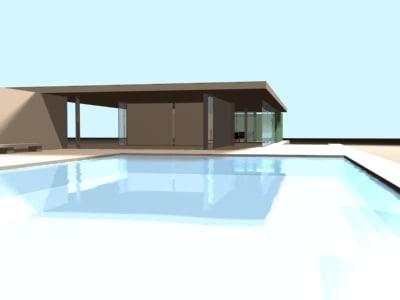 barcelona pavilion 3d model