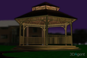 max gazebo architecturally