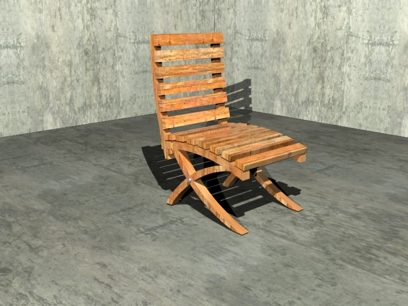 free chair 3d model