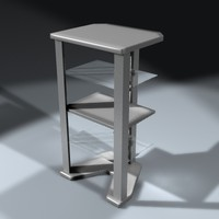 lightwave v-shaped cabinet