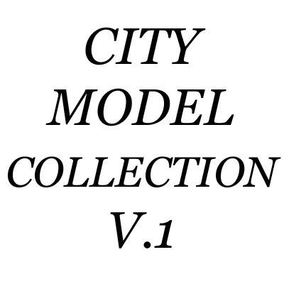 3d model of necksmasher city buildings