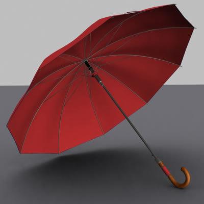 umbrella animation 3d model