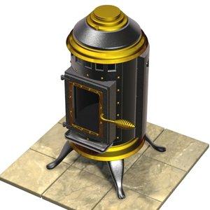 maya wood burning stove