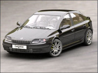 3d model renault laguna ii