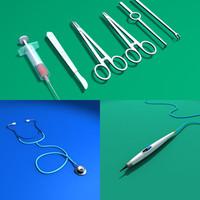 surgery tool 3d model